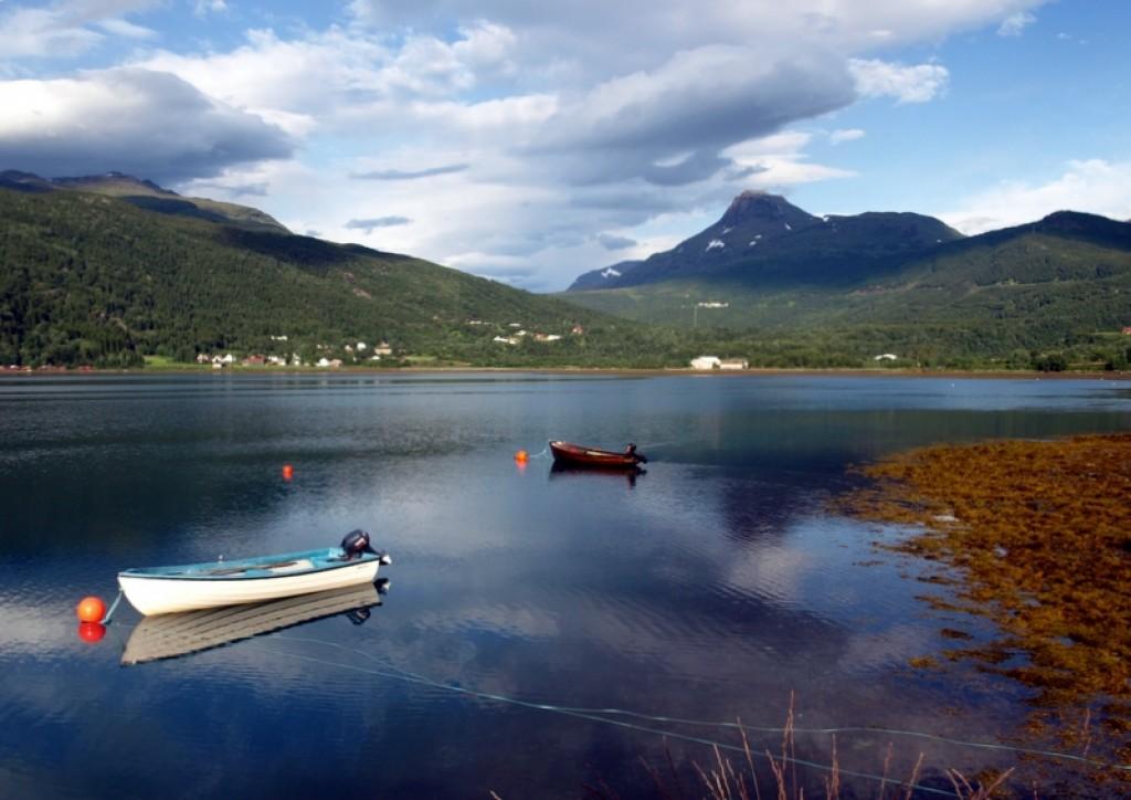 Zdjęcia: Narwik, łódka, NORWEGIA