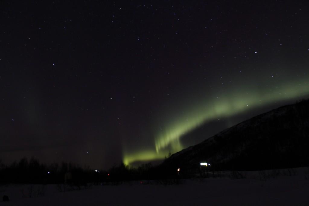 Zdjęcia: Okolice Tromsø, Troms, Aurora Borealis 1, NORWEGIA