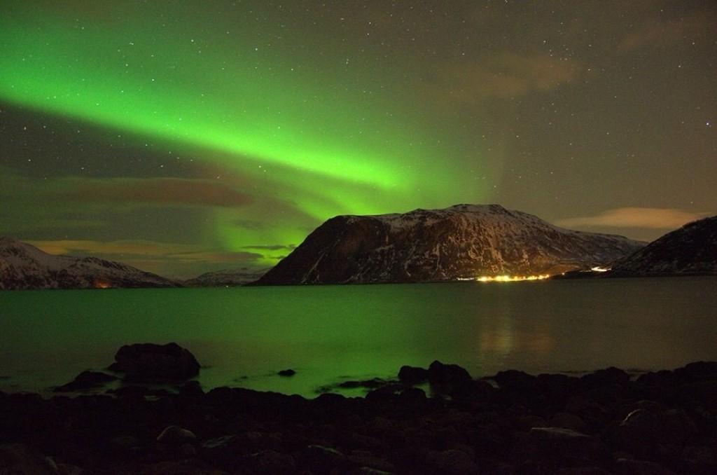Zdjęcia: Tromso, Tromso, Zorza polarna, NORWEGIA