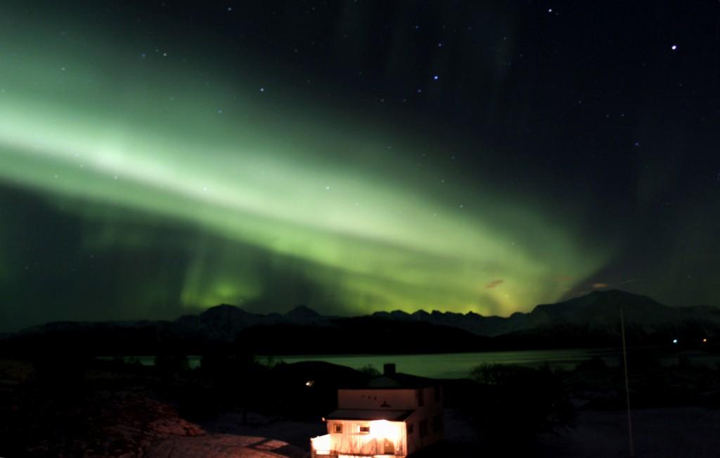 Zdjęcia: Sommarøy, Troms, Zorza Polarna, NORWEGIA