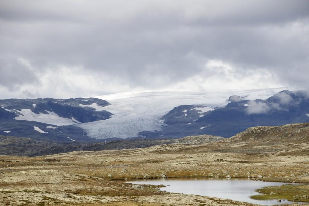 Zdjęcia: Hardangervidda , Hordaland, Lodowiec Hardangerjøkulen, NORWEGIA