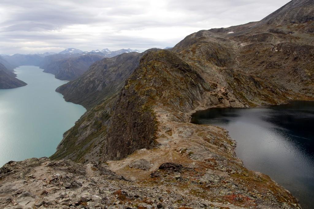 Zdjęcia: Besseggen, Oppland, Besseggen, NORWEGIA