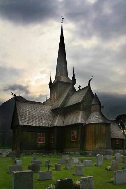 Zdjęcia: Lom, Oppland, Lom Stavkyrkje, NORWEGIA