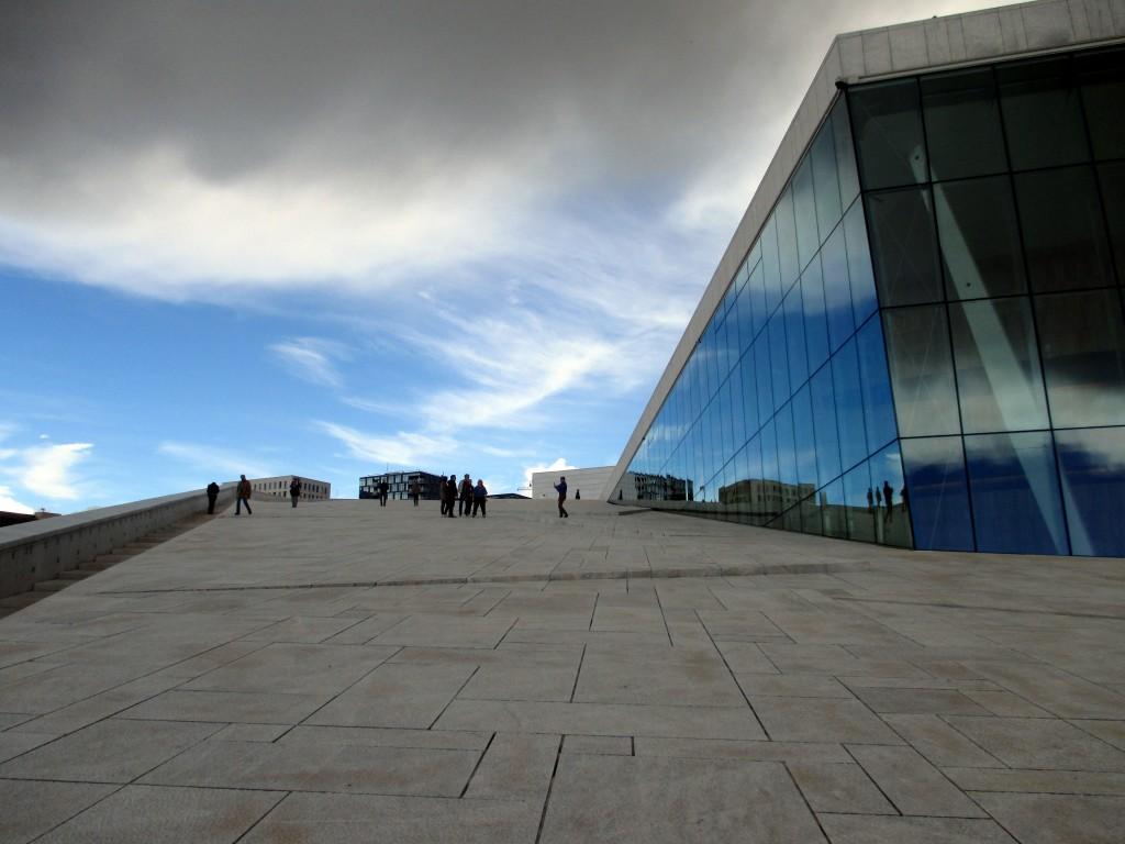 Zdjęcia: Kirgsten Flagstads plass 1, Oslo, Opera house, NORWEGIA