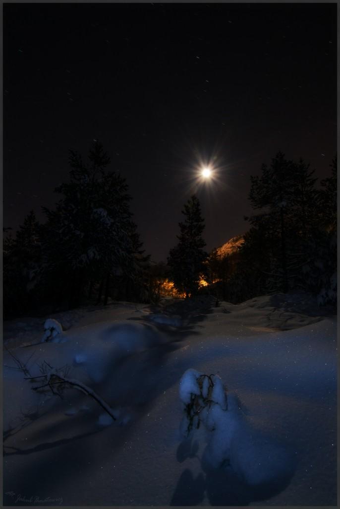 Zdjęcia: Gullbotn, Hordaland, Noc, NORWEGIA