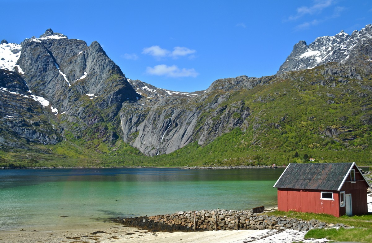 Zdjęcia: Lofoty, Nordland, Wiosna..., NORWEGIA