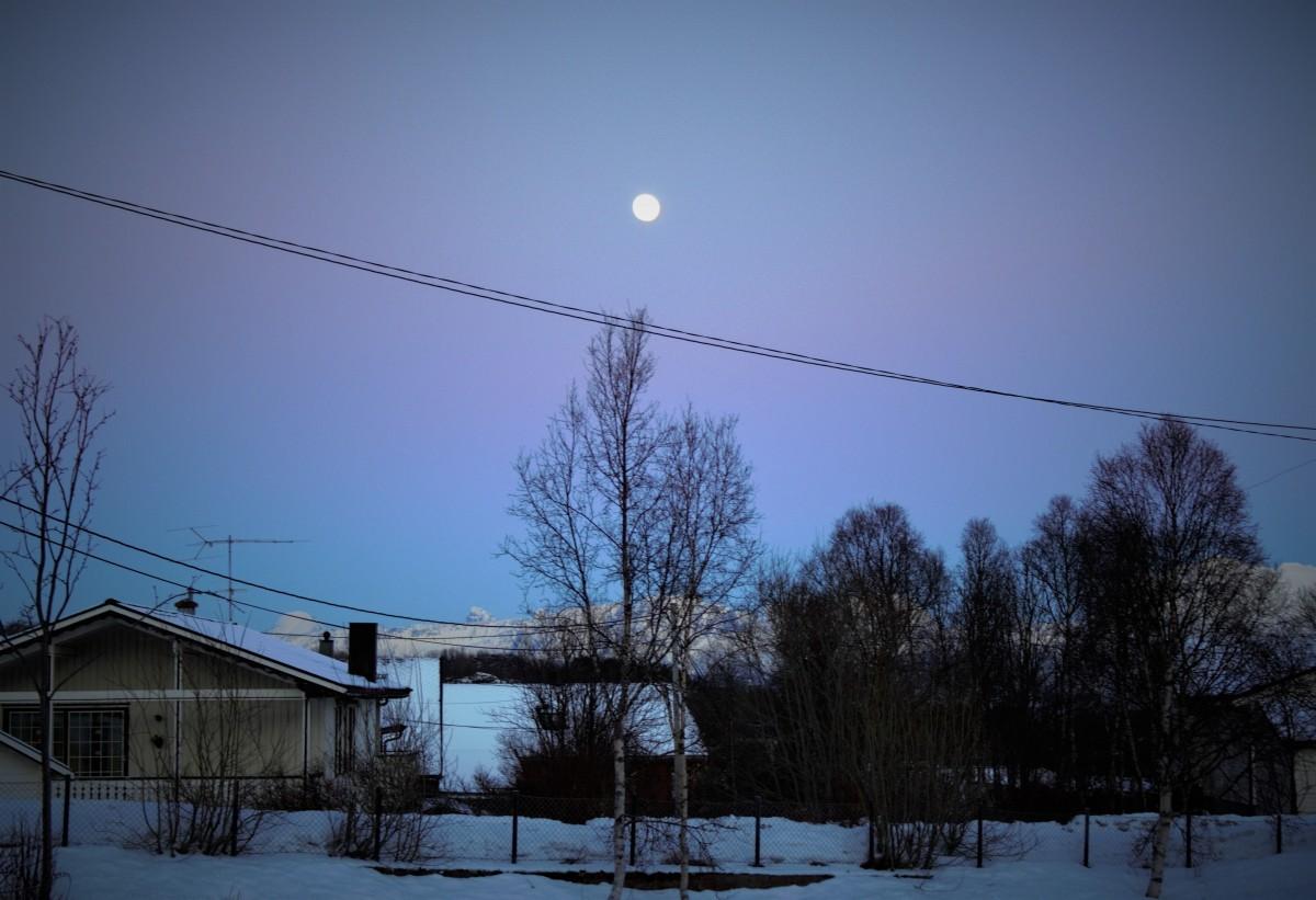 Zdjęcia: Harstad, Tromso, Kolorowy wieczór, NORWEGIA