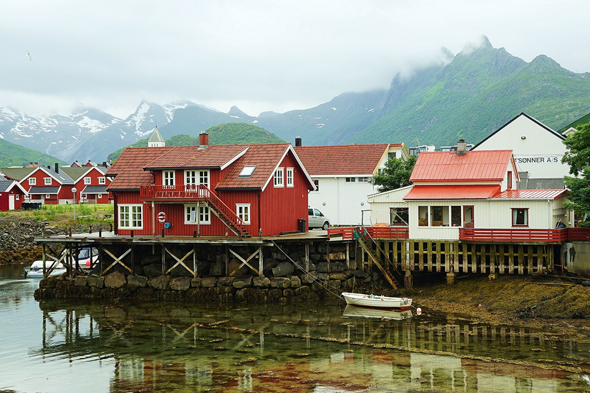 Zdjęcia: Svolvær, Lofoty, Svinøya Rorbue, NORWEGIA