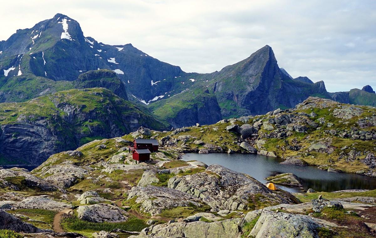 Zdjęcia: Wyspa Moskenesøya, Lofoty, Schronisko Munkebu, NORWEGIA