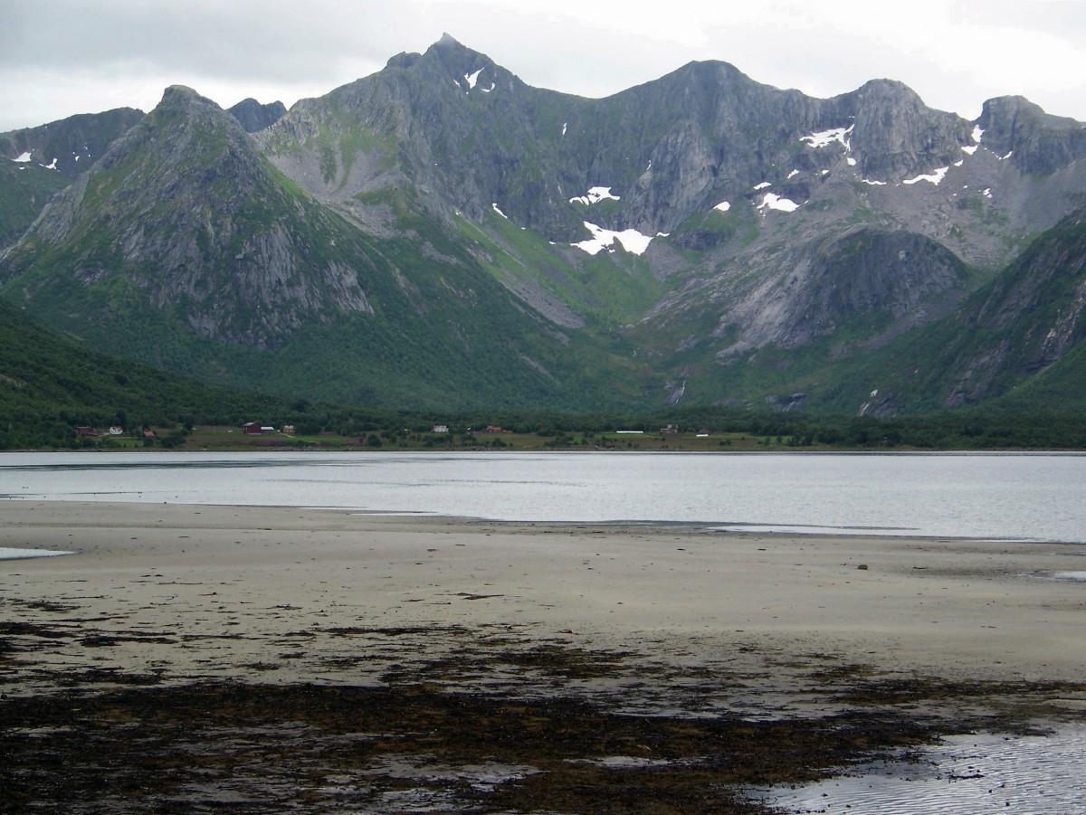 Zdjęcia: Austvagoya, Lofoty, Lofockie plaże, NORWEGIA