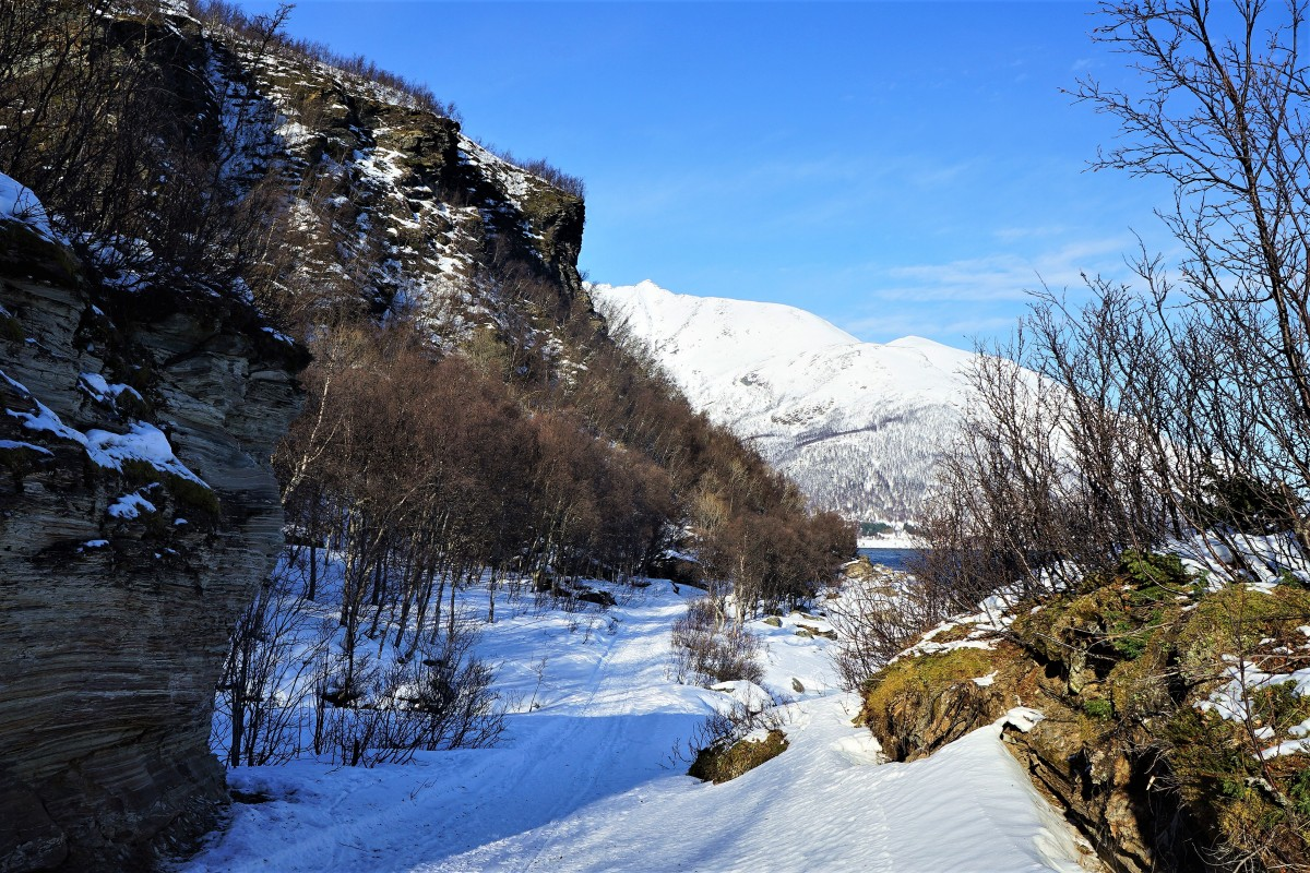 Zdjęcia: Oldervik, Troms, Twarz śpiącego Wikinga, NORWEGIA