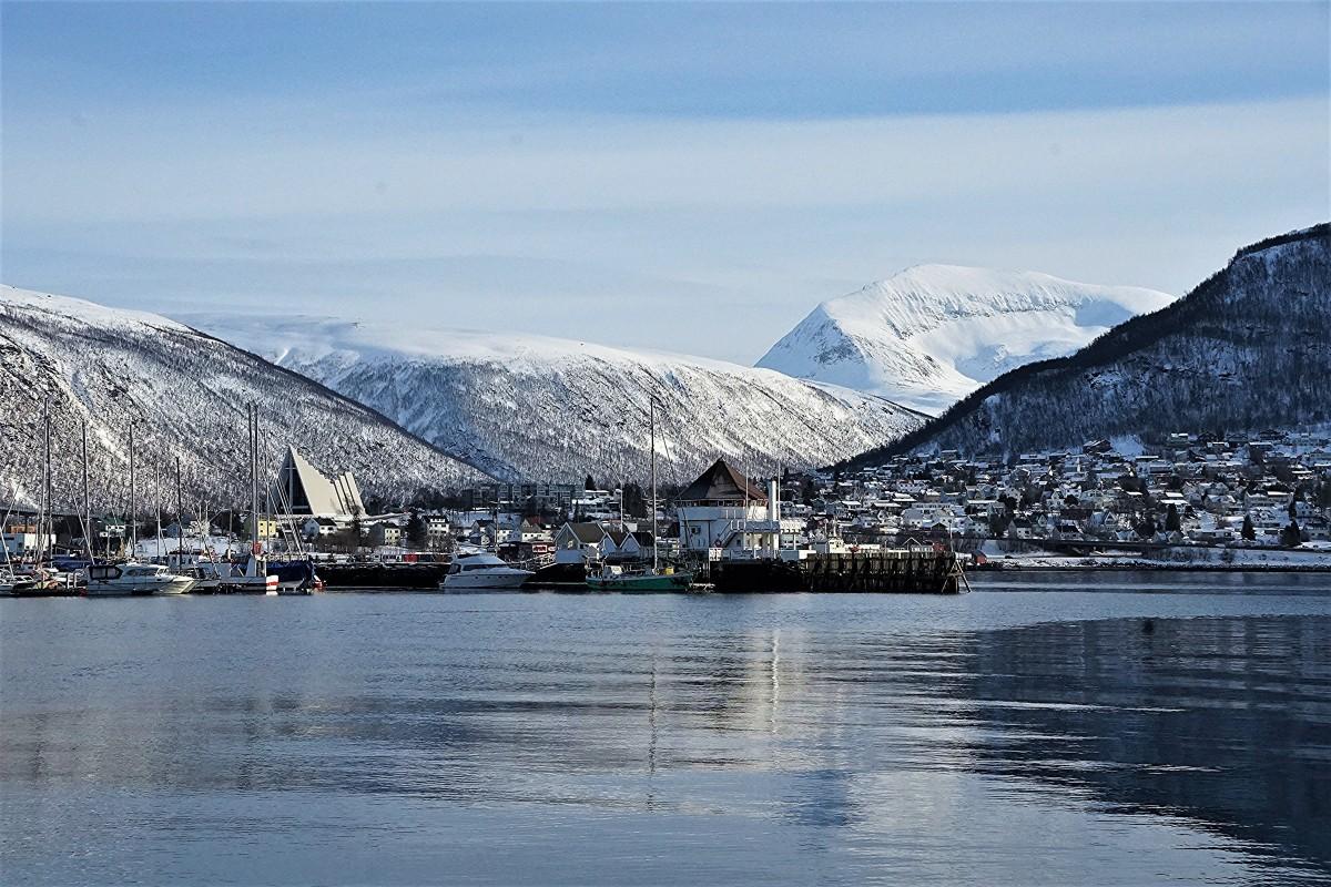 Zdjęcia: Tromsø, Troms, Po drugiej stronie, NORWEGIA
