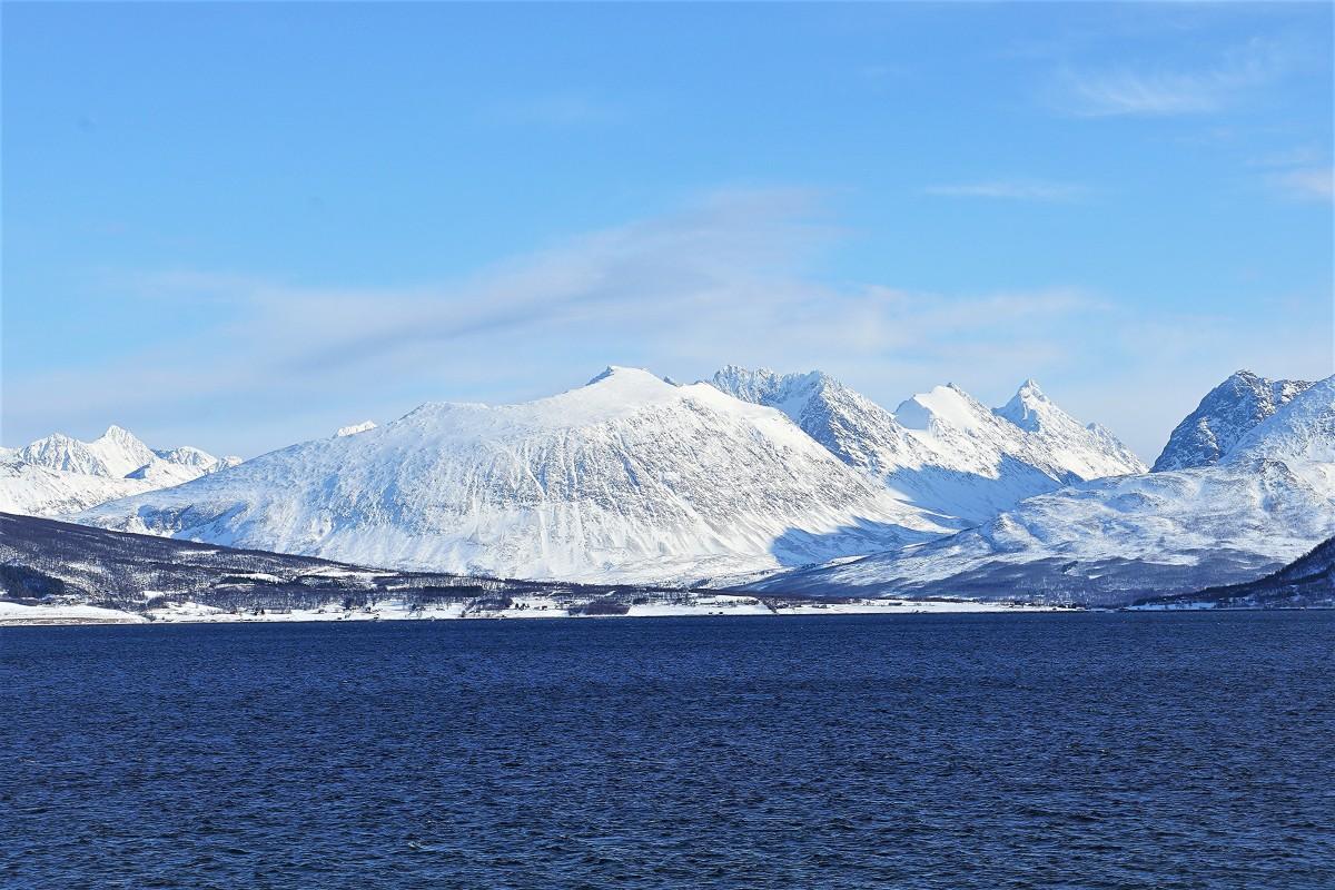 Zdjęcia: Oldervik, Troms, Błękity, NORWEGIA