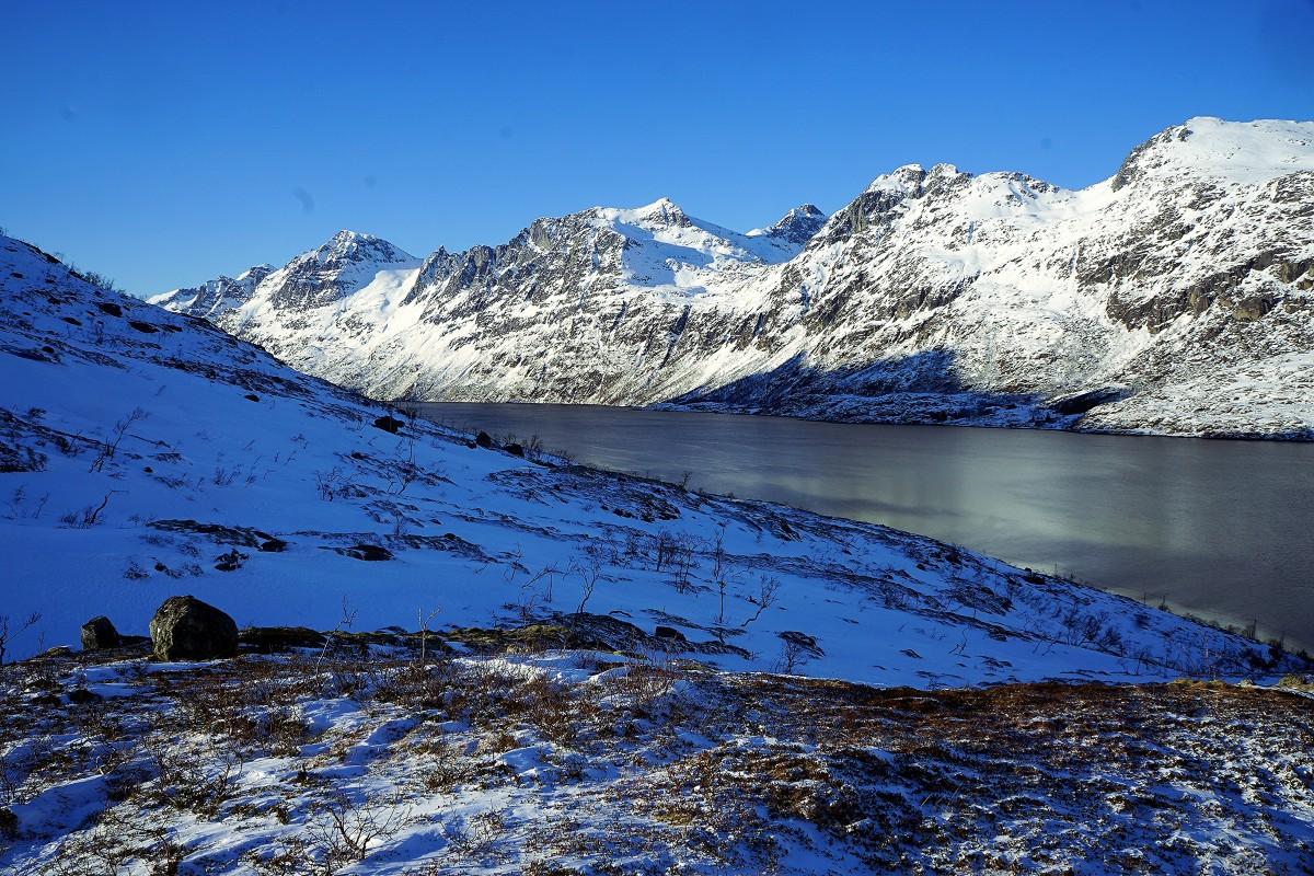Zdjęcia: Ersfjordbotn, Troms, Płaszczyzny, NORWEGIA
