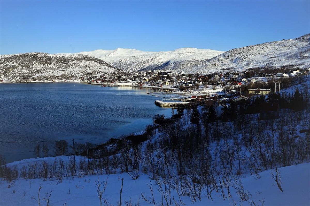 Zdjęcia: ., Troms, Ersfjordbotn, NORWEGIA