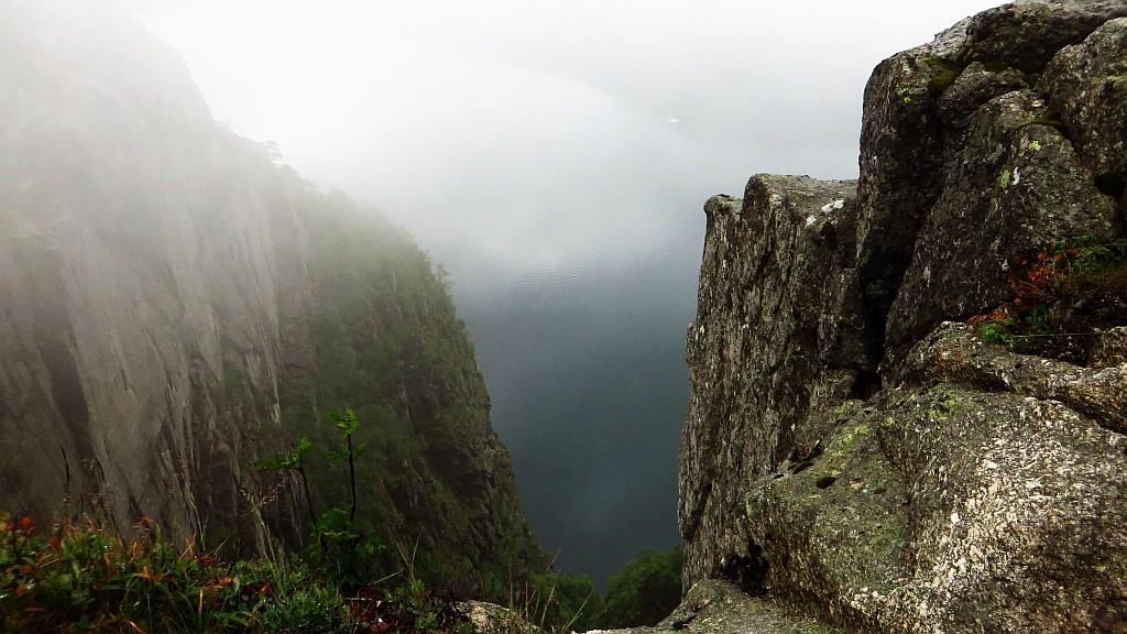 Zdjęcia: Lysefjord, Norwegia południowo - zachodnia, wycieczka na Preikestolen, NORWEGIA