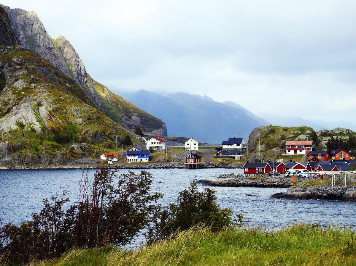 Zdjęcia: Reine, Lofoty, Poranek w Reine, NORWEGIA