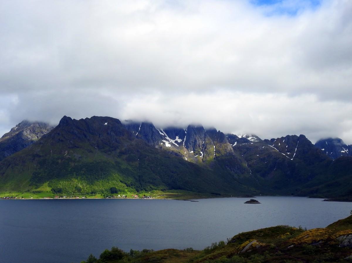 Zdjęcia:  Okolice Svolvær, Lofoty, Pejzaż, NORWEGIA