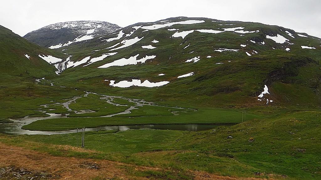 Zdjęcia: trasa kolejowa Bergen - Myrdal, Norwegia południowo - zachodnia, norweskie krajobrazy, NORWEGIA