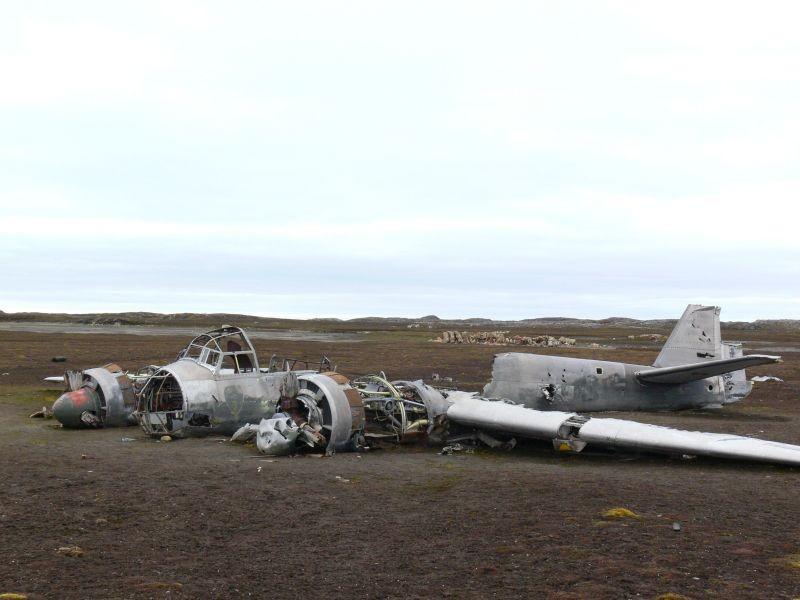 Zdjęcia: Svalbard Zachodni, Szpicbergen, Junkers JU88, NORWEGIA