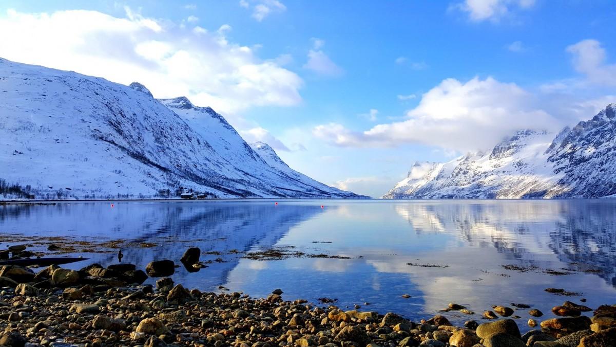 Zdjęcia: Ersfjordbotn, Północ, Północna Norwegia, NORWEGIA