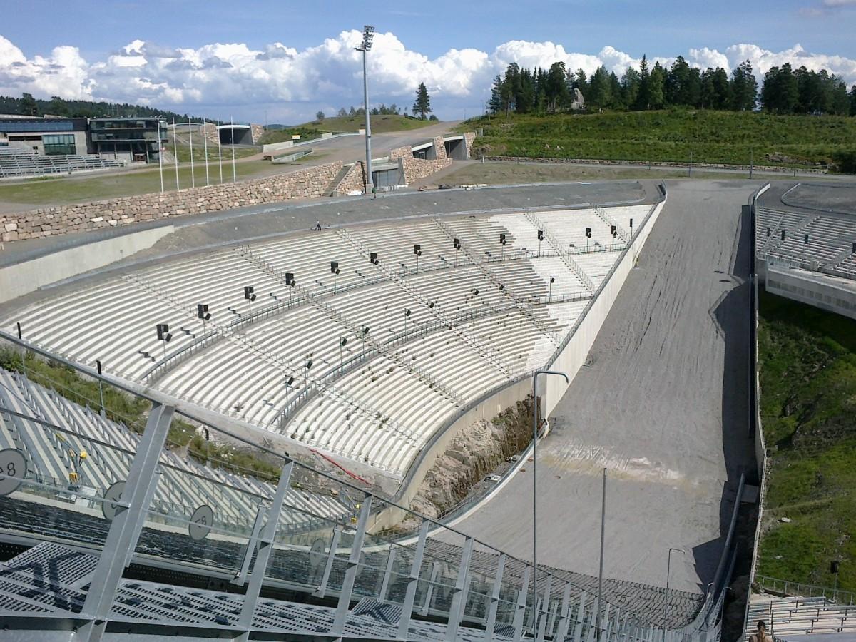 Zdjęcia: Oslo, Oslo, Holmenkollbakken, NORWEGIA