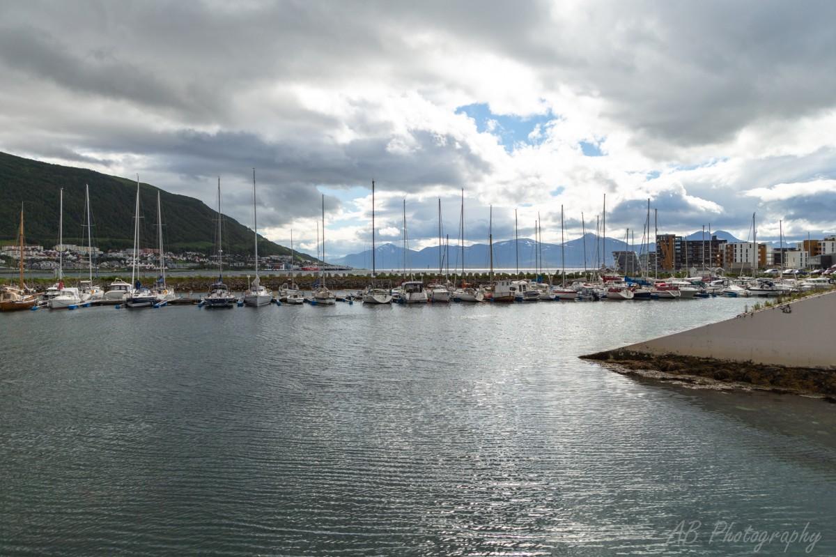 Zdjęcia: Tromso, Północna Norwegia , Przystań , NORWEGIA