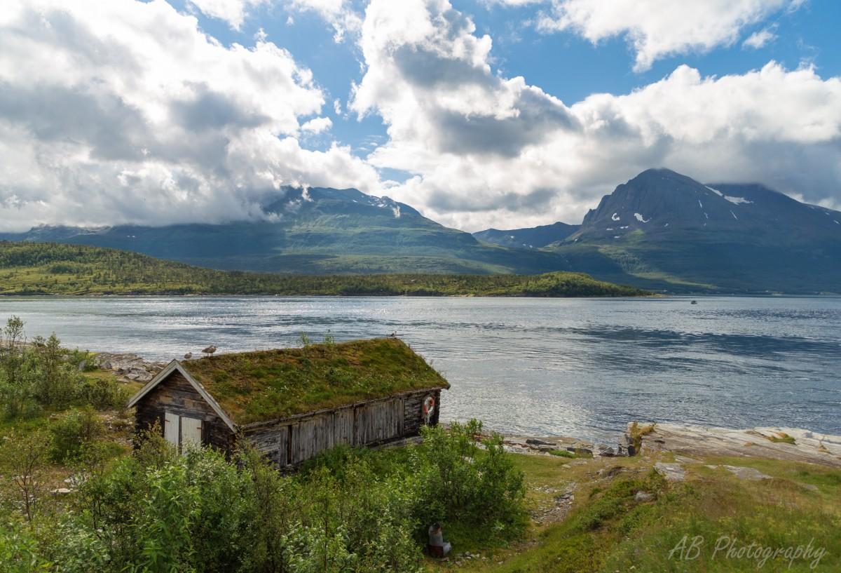 Zdjęcia: Tromso, Północna Norwegia , Kladfjord, NORWEGIA