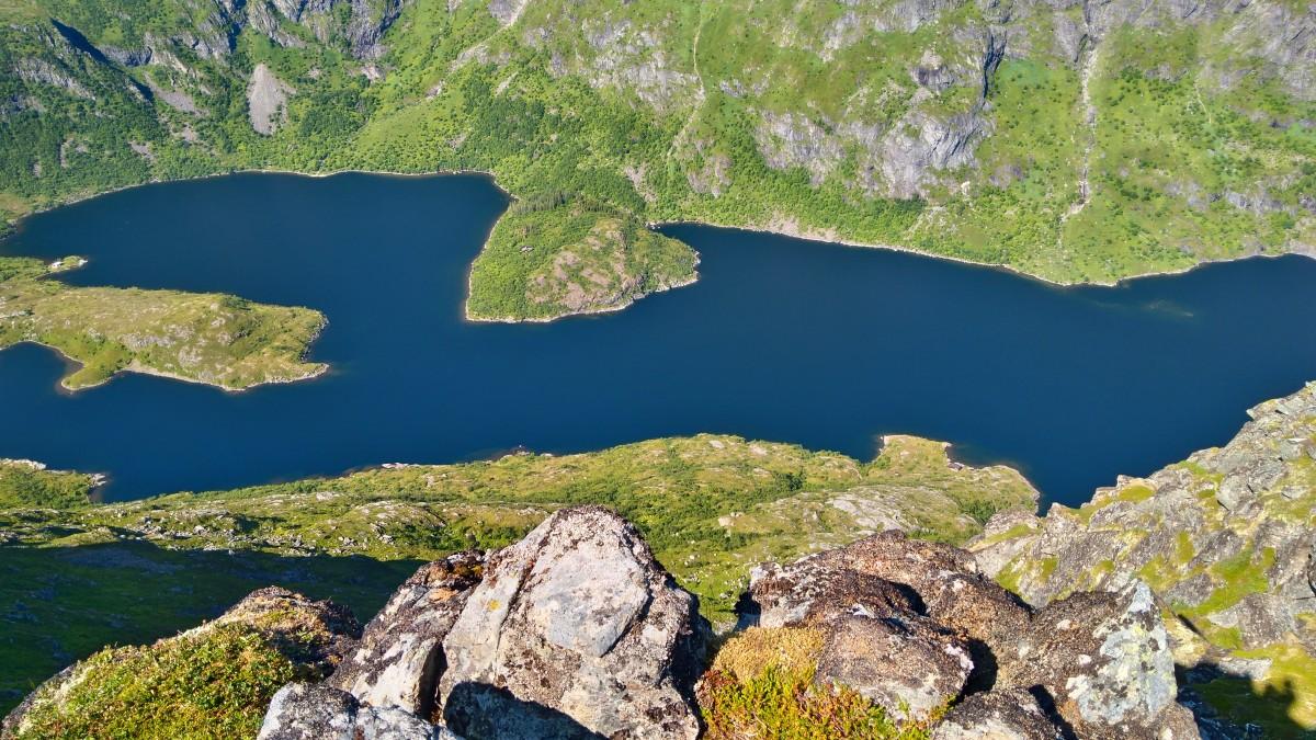 Zdjęcia: gdzieś na szlaku, lofoty, Jezioro Ågvatnet, NORWEGIA