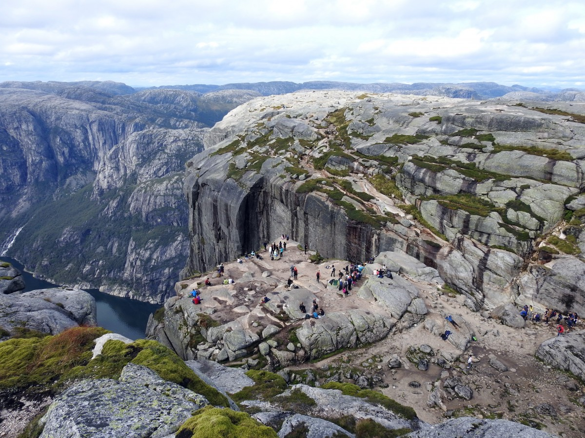 Zdjęcia: Kjerag, Rogaland, Kjerag 03, NORWEGIA