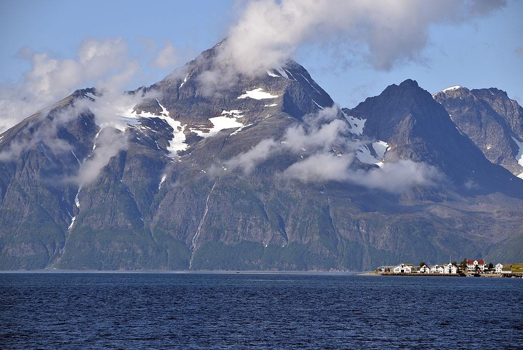 Zdjęcia: Lyngenfjord, Troms, Alpy Lyngeńskie, NORWEGIA