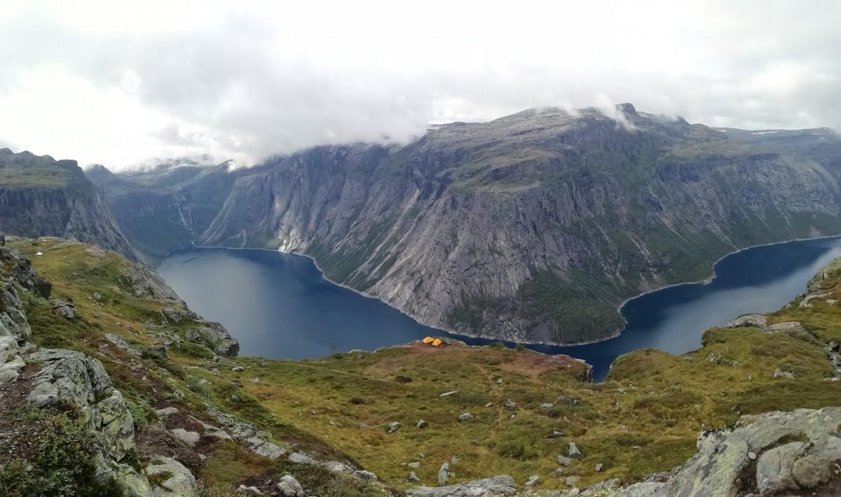 Zdjęcia: Trolltunga , Hordaland, W drodze na Język Trolla, NORWEGIA