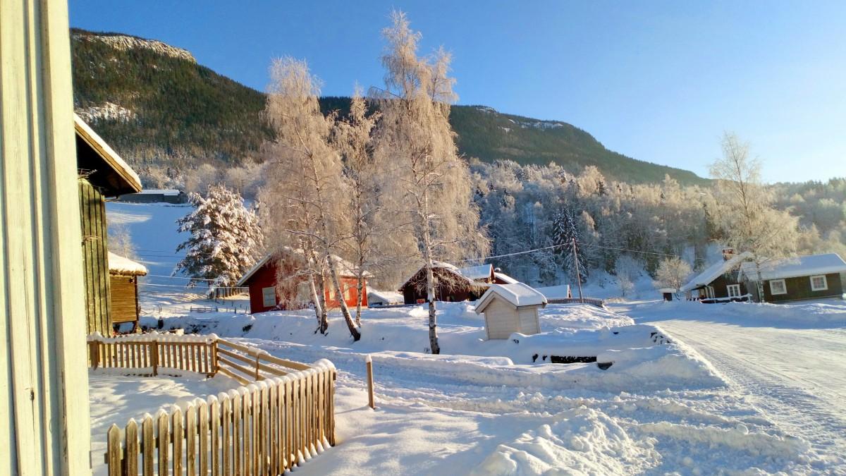Zdjęcia: Favang, Oppland, Uff, jak zimno., NORWEGIA