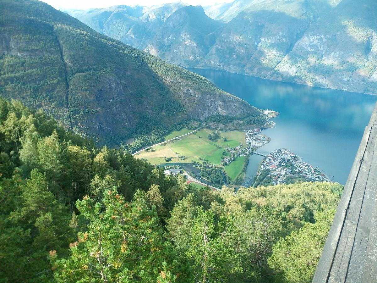 Zdjęcia: Sognefjord, -Pn.  - Zach. Norwegia, Fjordy c.d, NORWEGIA