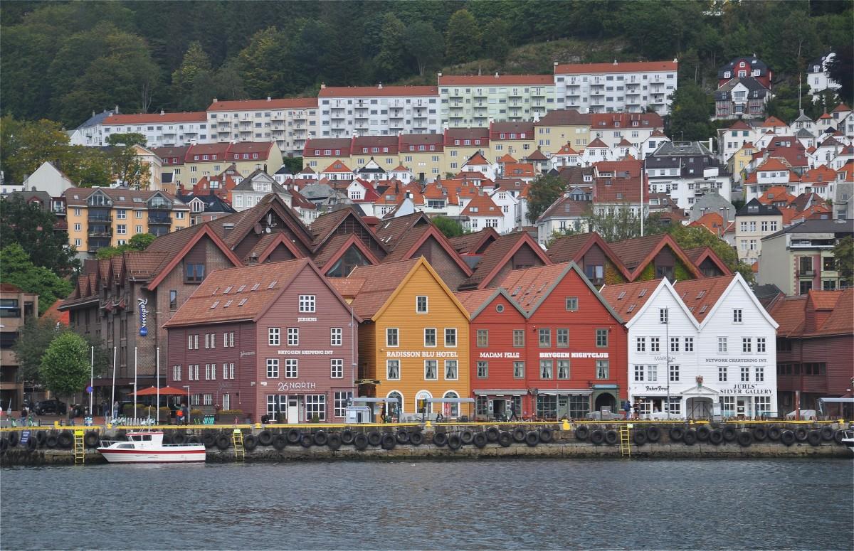 Zdjęcia: Bergen, Vestland, Architektura Bergen, NORWEGIA