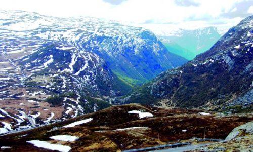 Zdjęcie NORWEGIA / Z dachu Norwegii / Norwegia / Droga 55