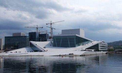 Zdjecie NORWEGIA / Srodkowa Norwegia / Oslo / Opera na wodzie