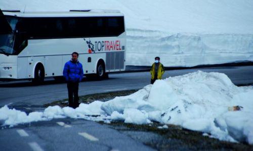 Zdjecie NORWEGIA / Droga 63 / Norwegia / Co Azjata robi w krystalicznie czystej Norwegii