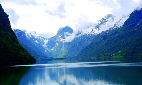 Zdjecie NORWEGIA / Norwegia / Nad fjordem / I jak tu nie kochać Norwegii 3