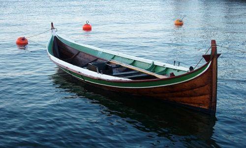 Zdjęcie NORWEGIA / Oslo / Oslo / rybacka łódka
