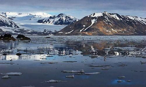 Zdjęcie NORWEGIA / Spitsbergen / Hornsund / Fiord