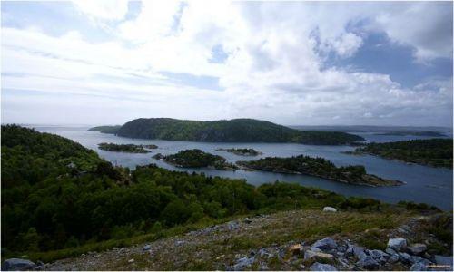 Zdjecie NORWEGIA / -Telemark / Nystrand / Krajobraz