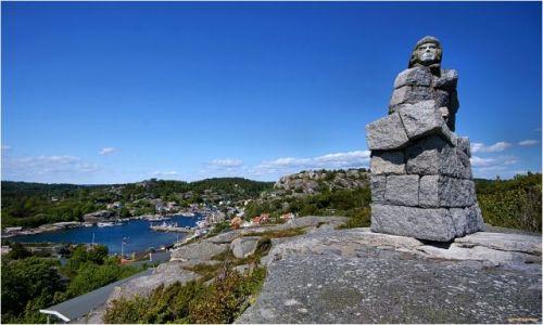 NORWEGIA / -Telemark / Ule / Krajobraz