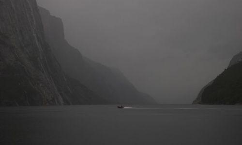Zdjecie NORWEGIA / okolice Stavanger / Lysebotn / prawie jak Mordor :)
