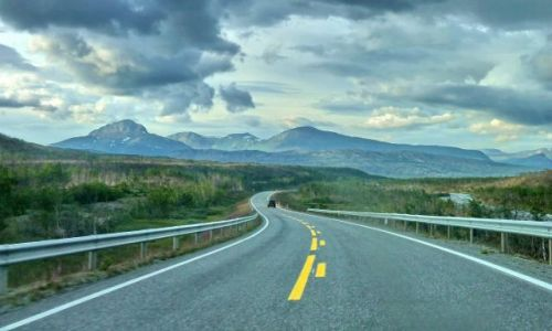 Zdjęcie NORWEGIA / Nordeland / m6 / Droga na północ