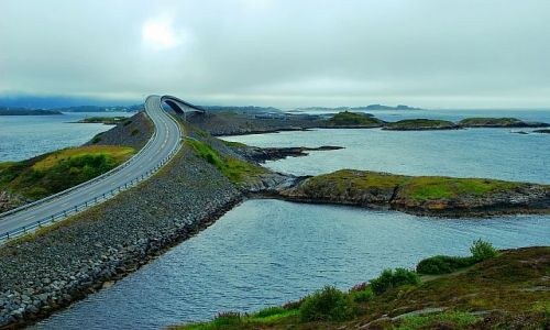 Zdjecie NORWEGIA / more og romsdal / Atlantic Road / Atlantic Road