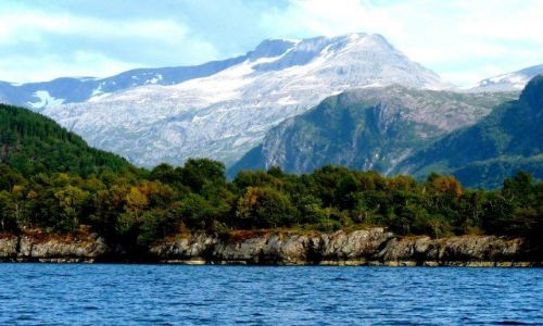 Zdjęcie NORWEGIA / Hordaland / okolice Floro / Góry