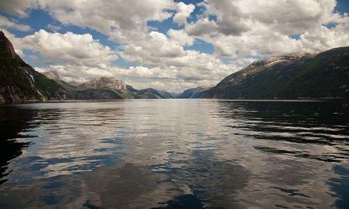 Zdjęcie NORWEGIA / okolice Stavanger  / Lysefjord / Fjord