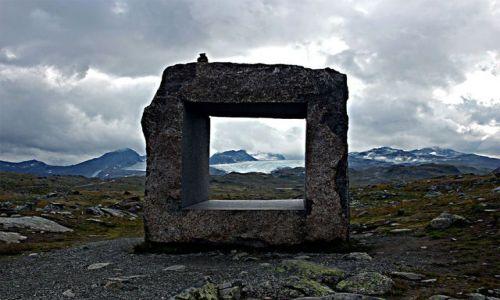 Zdjecie NORWEGIA / Jotunheimen / ?? / okno na świat