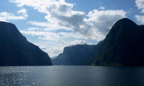Zdjęcie NORWEGIA / Sogn og Fjordane. / Sognefjord / Potęga fiordów